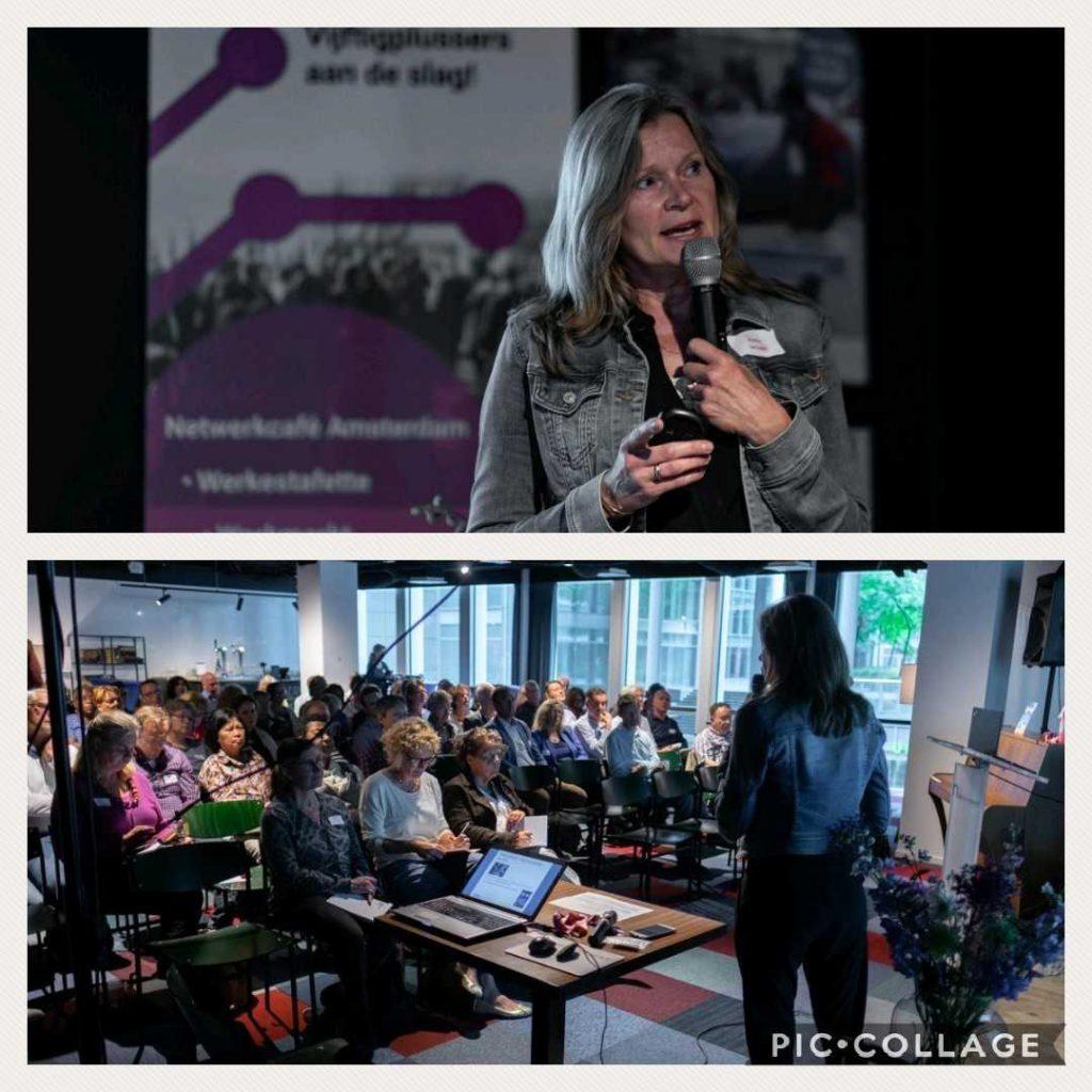 Auteur en spreekster Reina Janssen