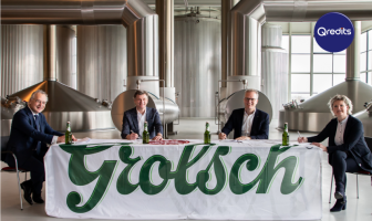 Teamfoto Grolsch en Qredits